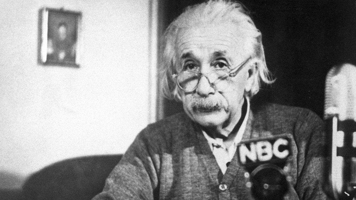 Varför var Albert Einstein så smart? foto: TT