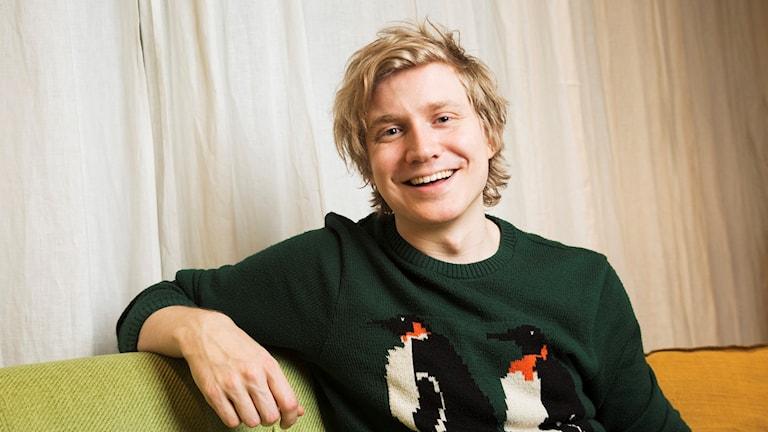 Adrian Boberg. foto: Mattias Ahlm/Sveriges Radio