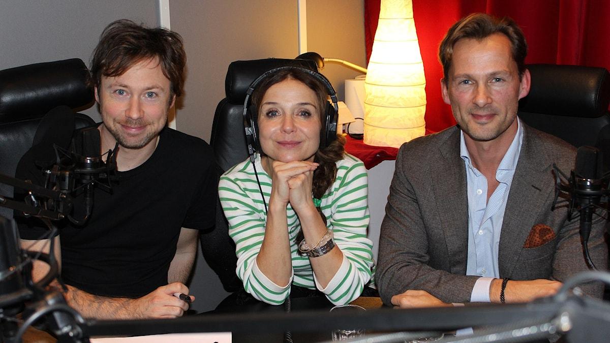 Tobias Persson, Annika Jankell och Niclas Lövkvist.