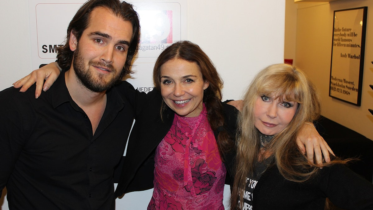 Erik Fernholm, Annika Jankell och Unni Drougge.