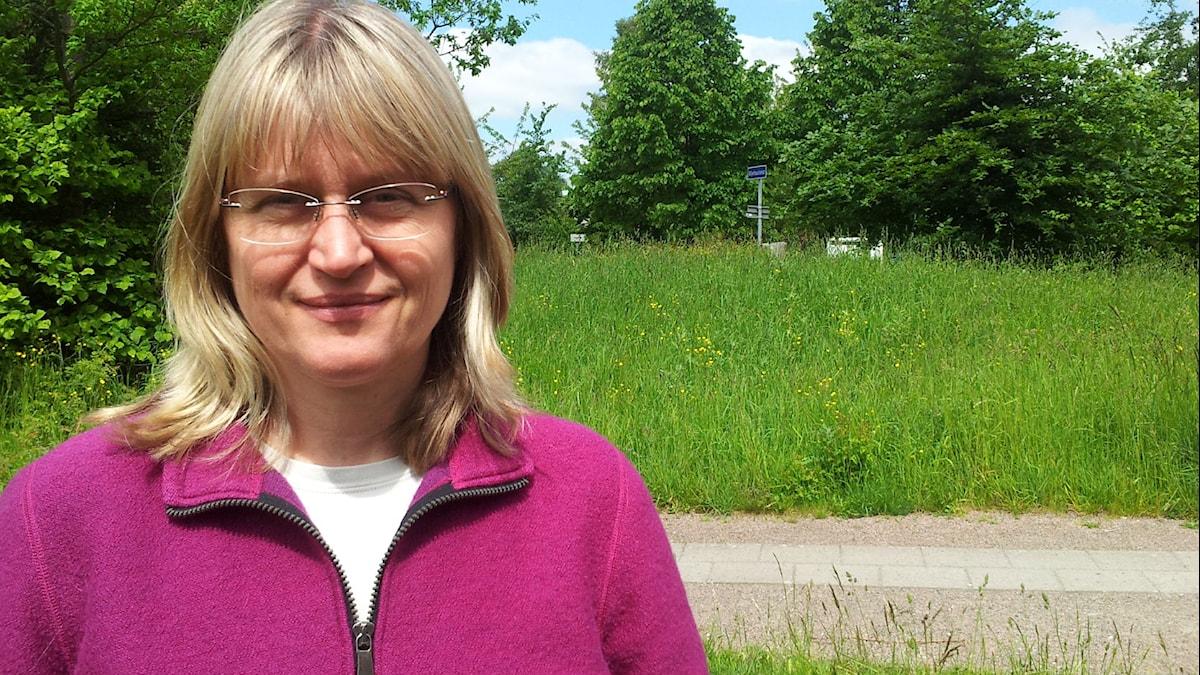 Porträtt på Susanne Åkesson. Foto: Björn Gunér/Sveriges Radio