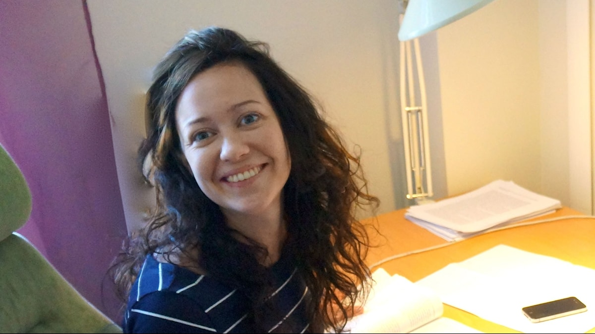 Anna Hedlund. Foto: Privat/Sveriges Radio