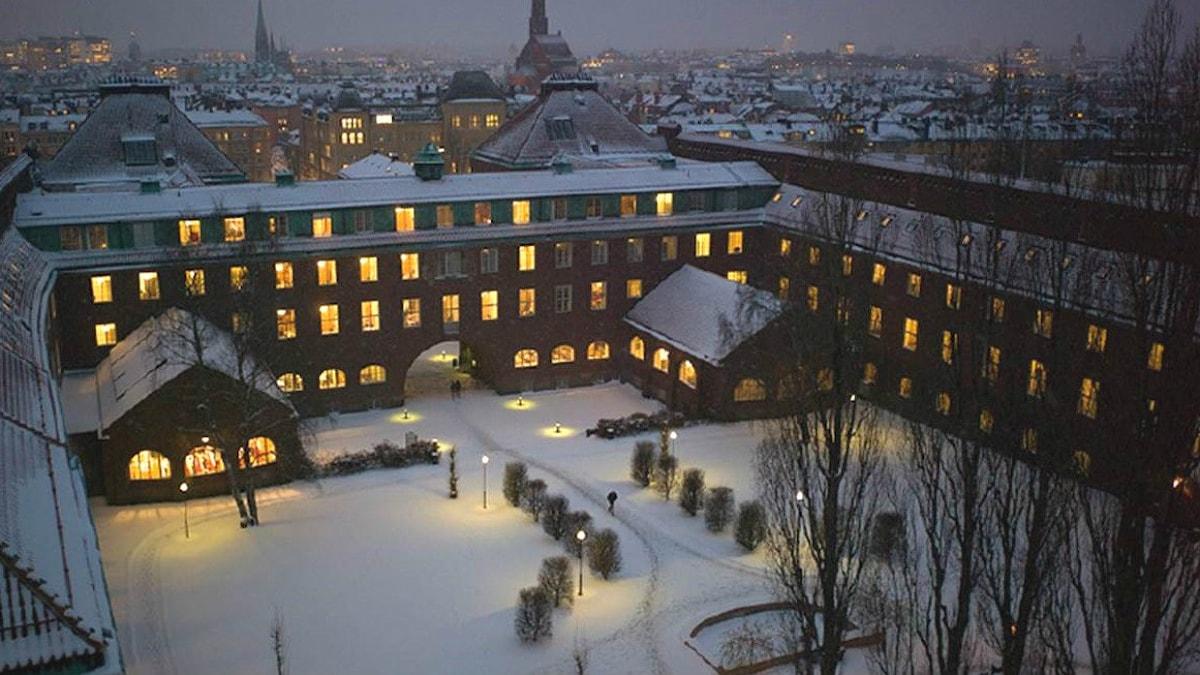 Kungliga tekniska högskolan. Bild på säkerhetsforskare Lars Strömberg får ej spridas enligt hans arbetsgivare. Foto: KTH