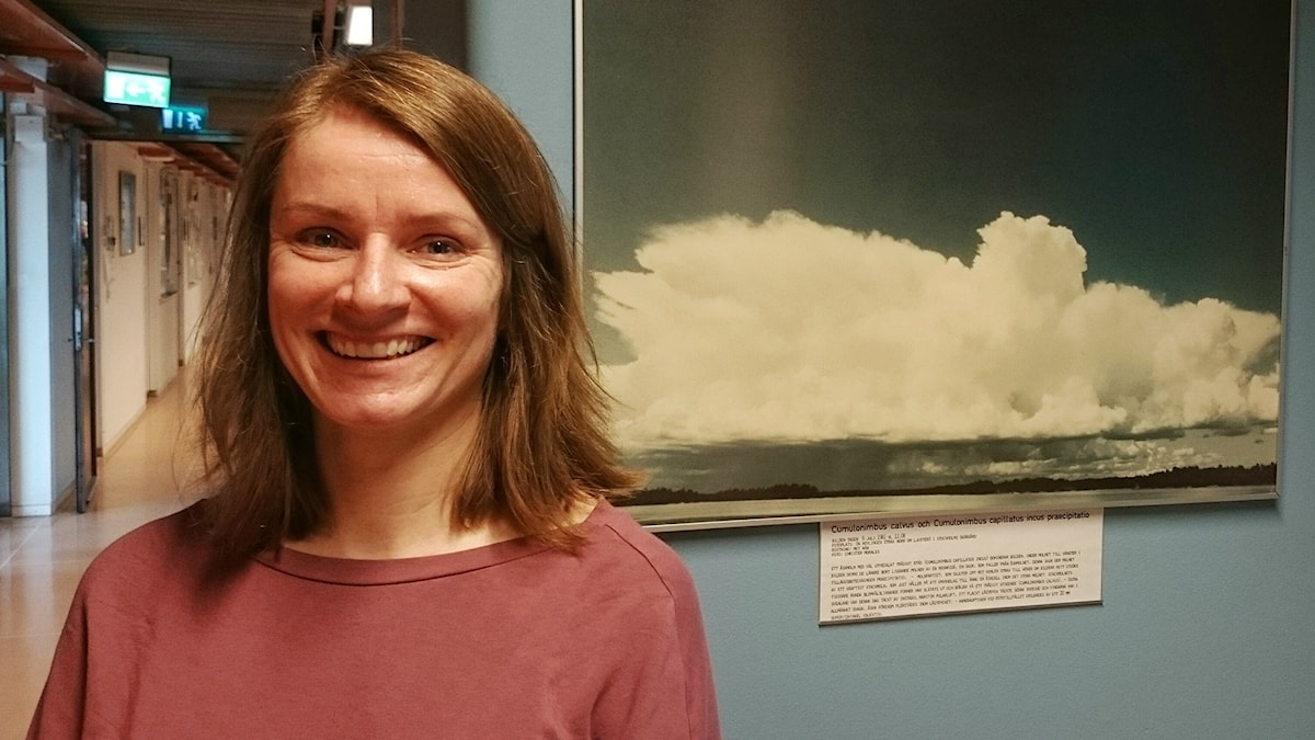 Annica Ekman, professor i meteorologi vid Stockholms universitet.