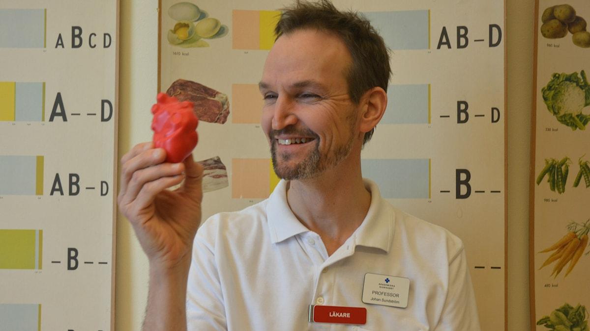 Johan Sundström professor i epidemiologi vid Uppsala universitet försöker dra igång en världsunik befolkningsstudie.