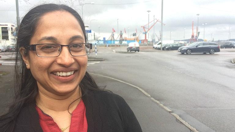 Sonia Sunny är forskare i folkhälsa, drömmer om att arbeta i Sverige.