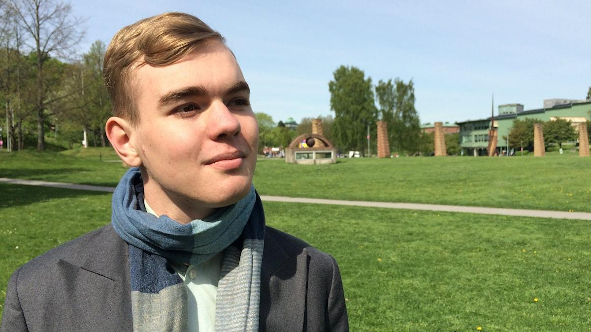 Bara 20 år gammal är Stefan Buijsman nu doktor i matematikfilosofi vid Stockholms universitet