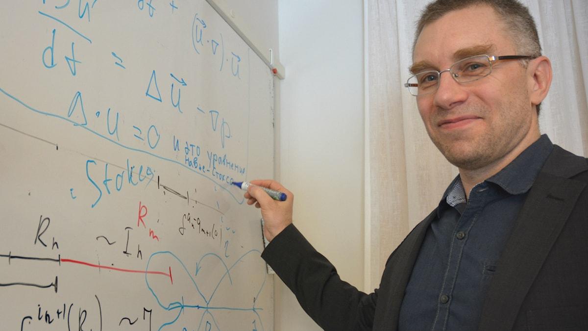 Denis Gaidashev, docent i matematik vid Uppsala universitet