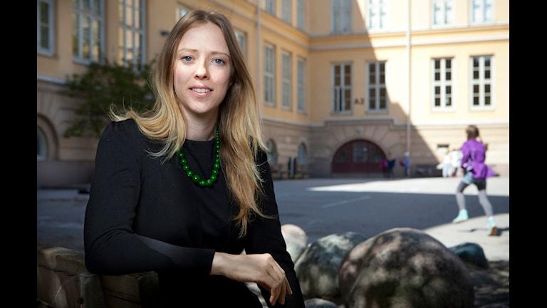 Åsa Lindhagen, Miljöpartiet: socialborgarråd i Stockholm. Foto: Pressbild