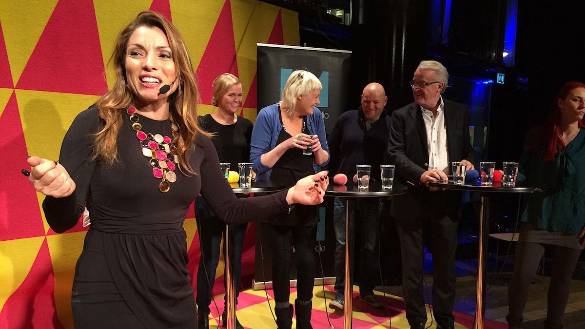 Alexander Pascalidou leder P1 Debatt. Foto: Sveriges Radio.