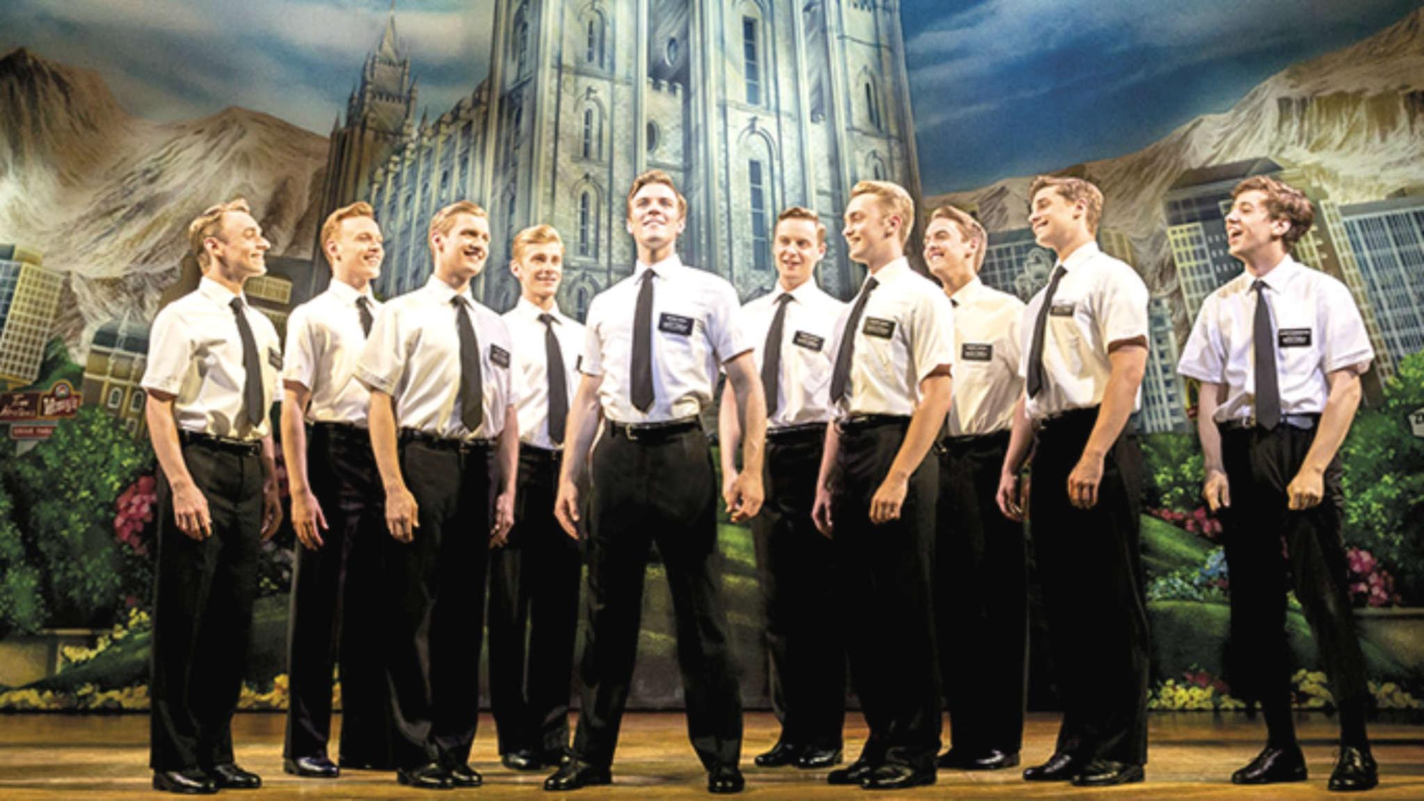 Är musikalen Book of Mormon årets bästa? Foto: Prince of Wales theatre, London