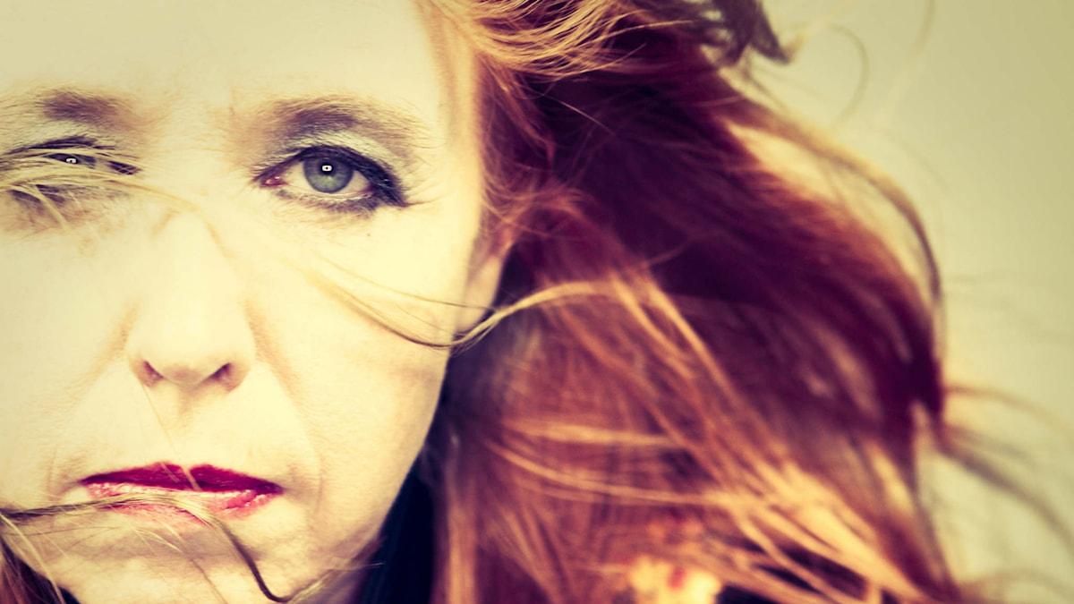 bild på författaren Aase Berg. Copyright/fotograf: Elisabeth Ohlson Wallin