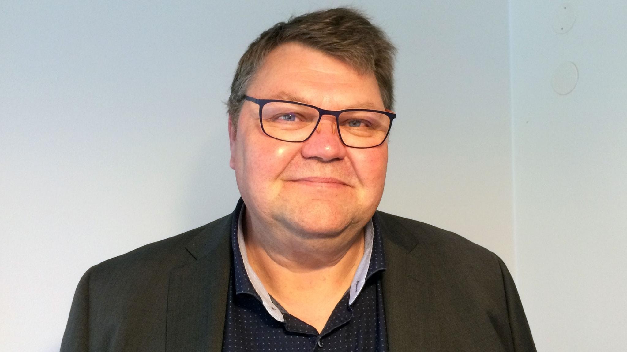 Toppkandidaten Peter Lundgren (SD)frågas ut inför EU-valet