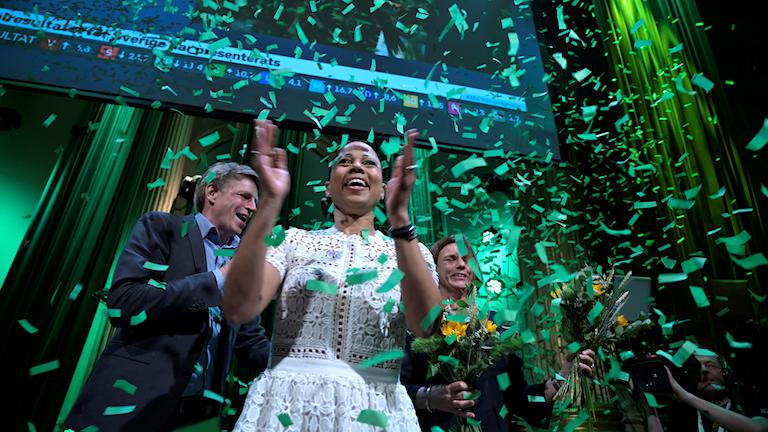 Miljöpartiets valvaka EU-val 2019