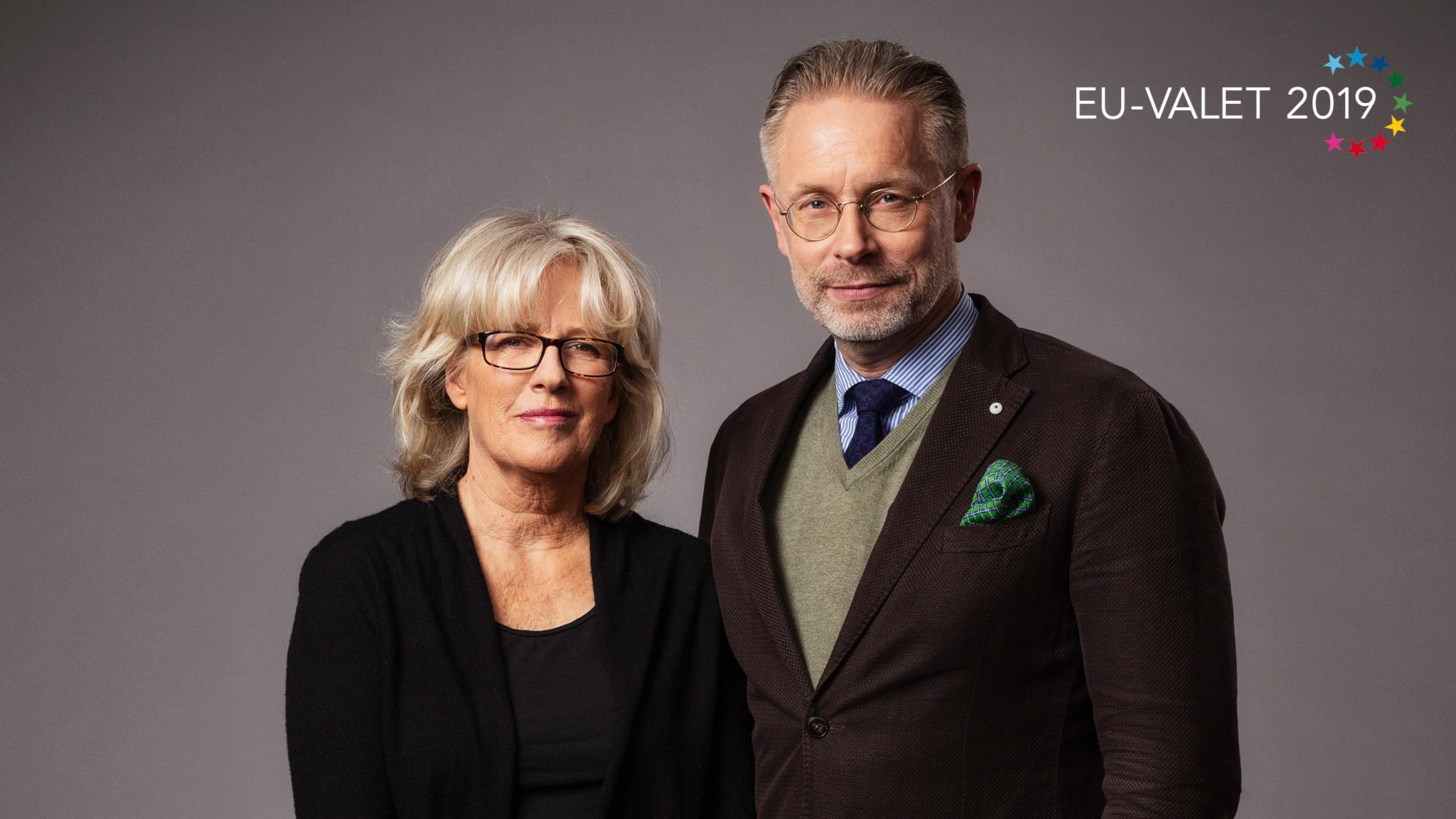 Programledare slutdebatt och valvaka EU valet 2019