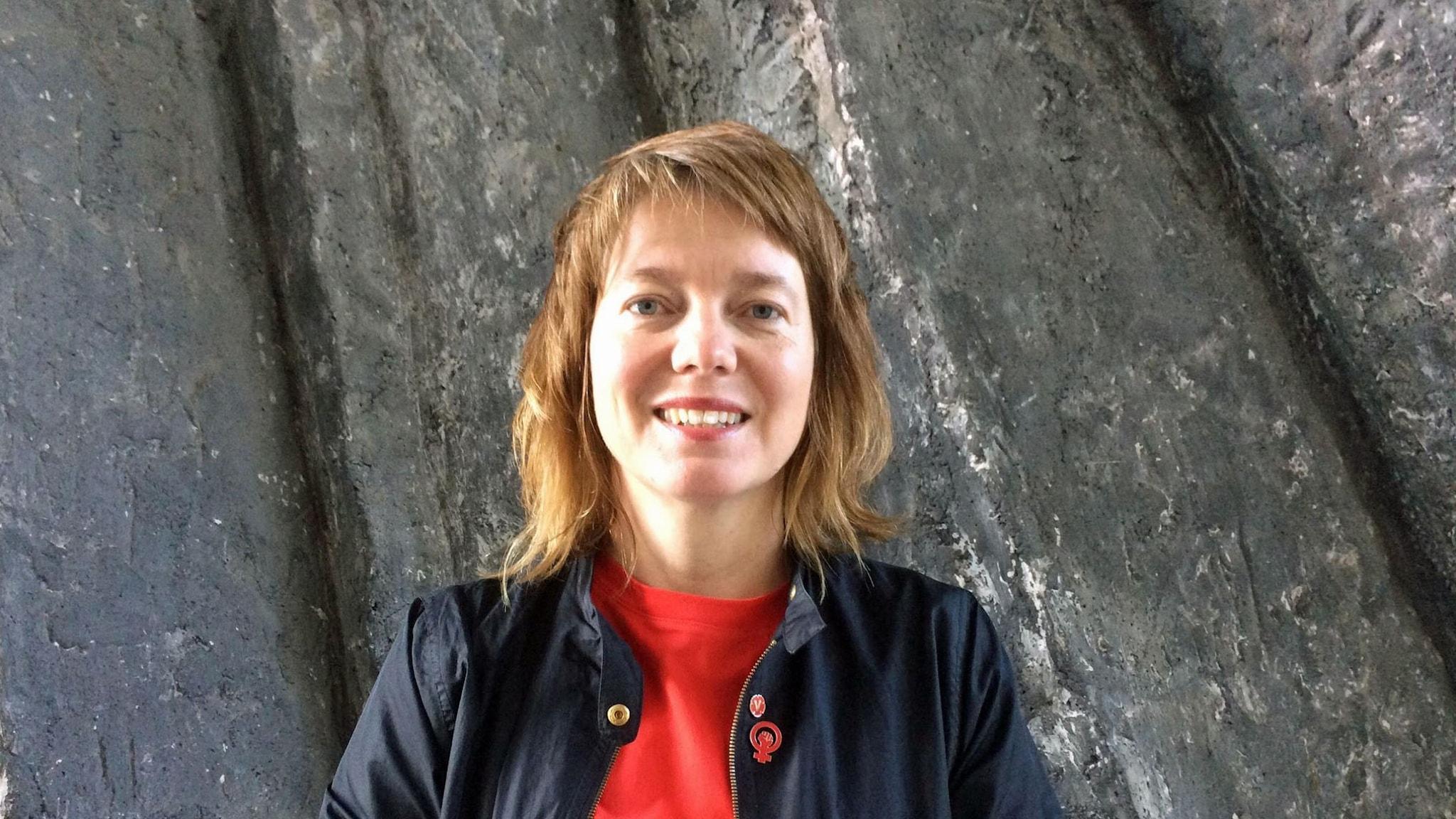 Malin Björk, Vänsterpartiets toppnamn inför EU-valet.