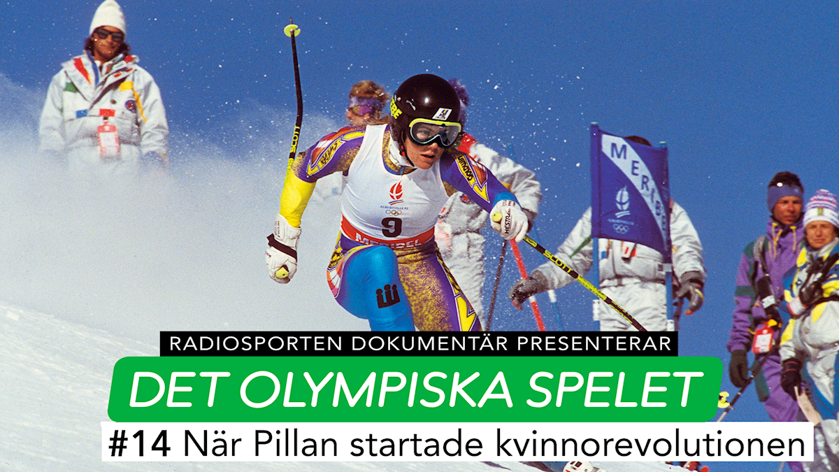 Pernilla-Wiberg Radiosorten Dokumentär Det Olympiska spelet. Foto: TT