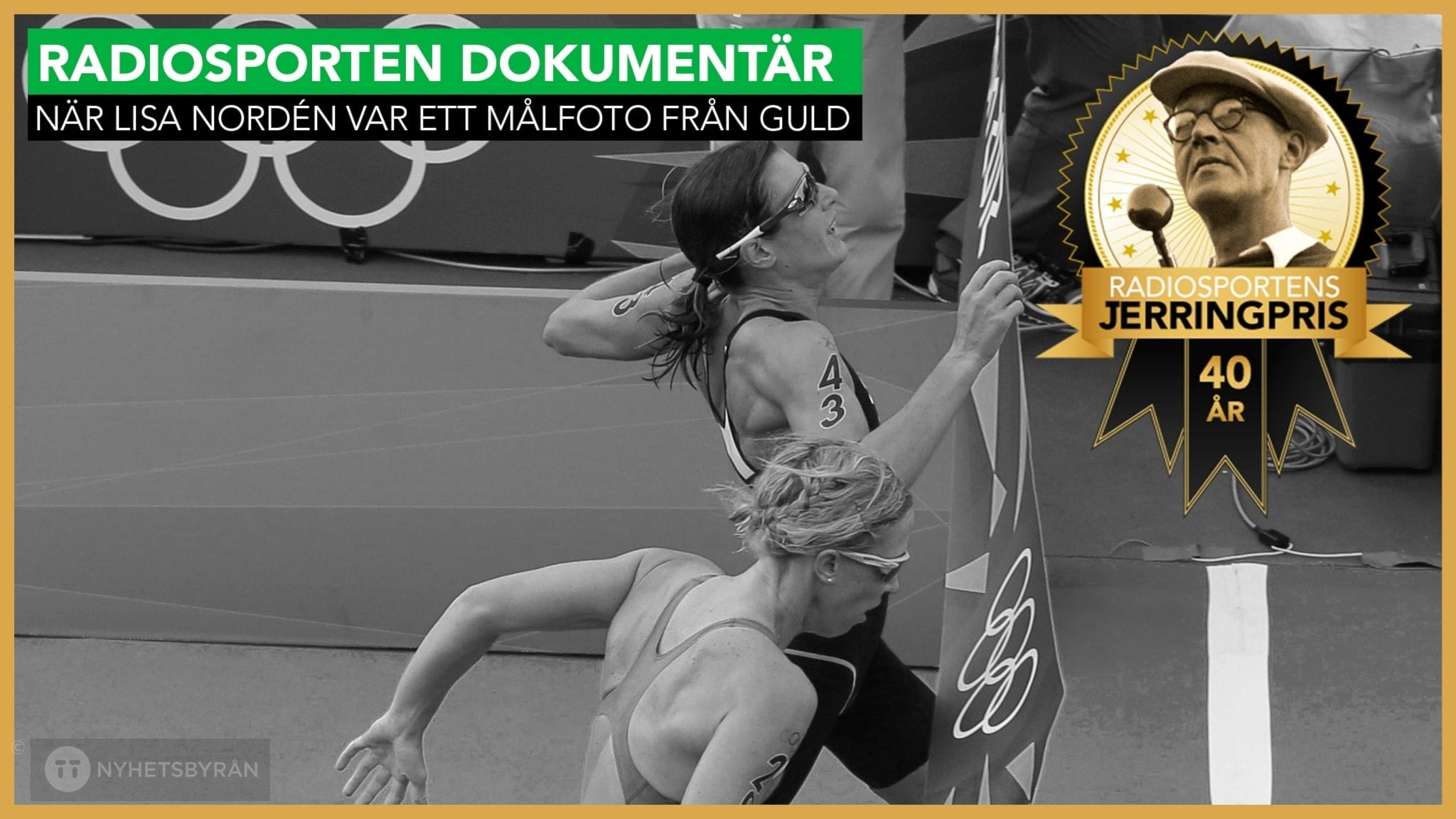 När Lisa Nordén var ett målfoto från OS-guld