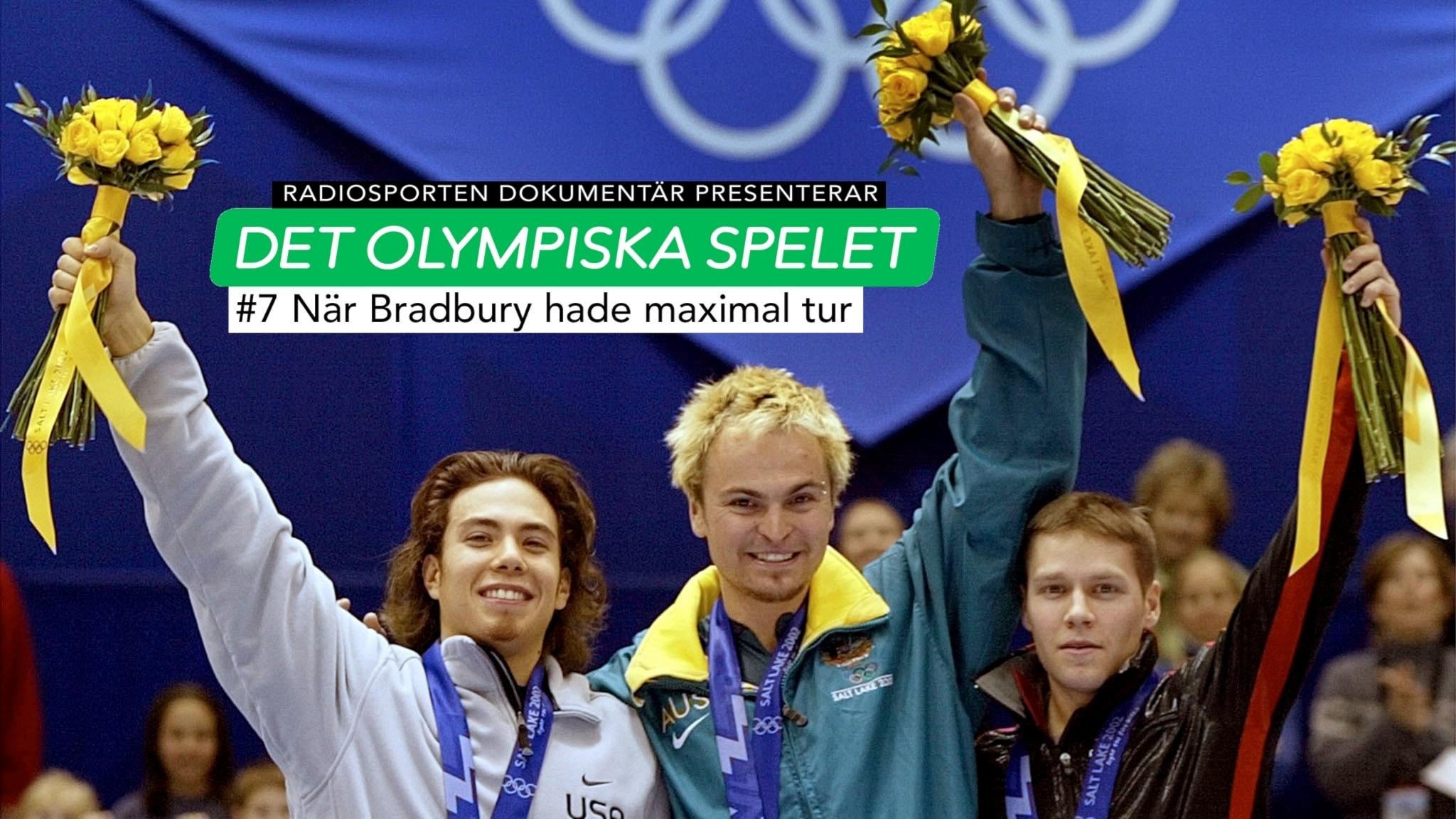 Olympiska spelet om Steven Bradbury. Foto: Doug Mills/TT