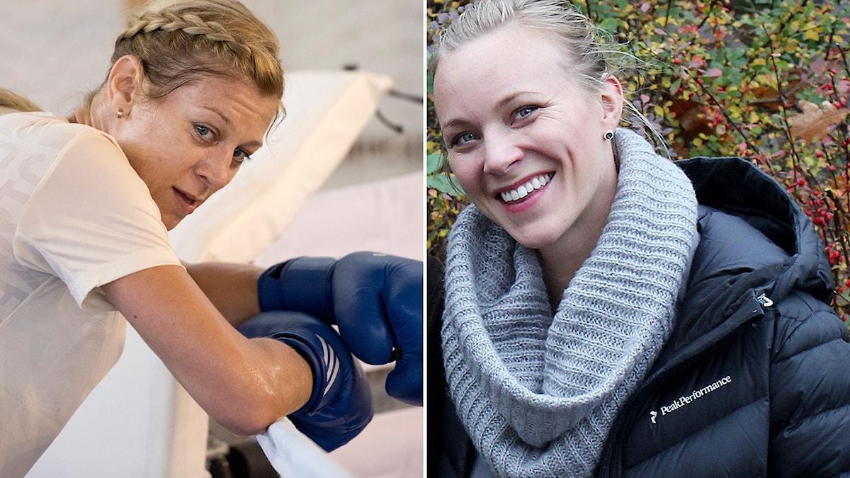 Före detta elitidrottarna Anna Laurell Nash (boxning) och Johanna Frisk (fotboll) delar med sig av sina erfarenheter kring hur menscykeln har påverkat deras idrottande.