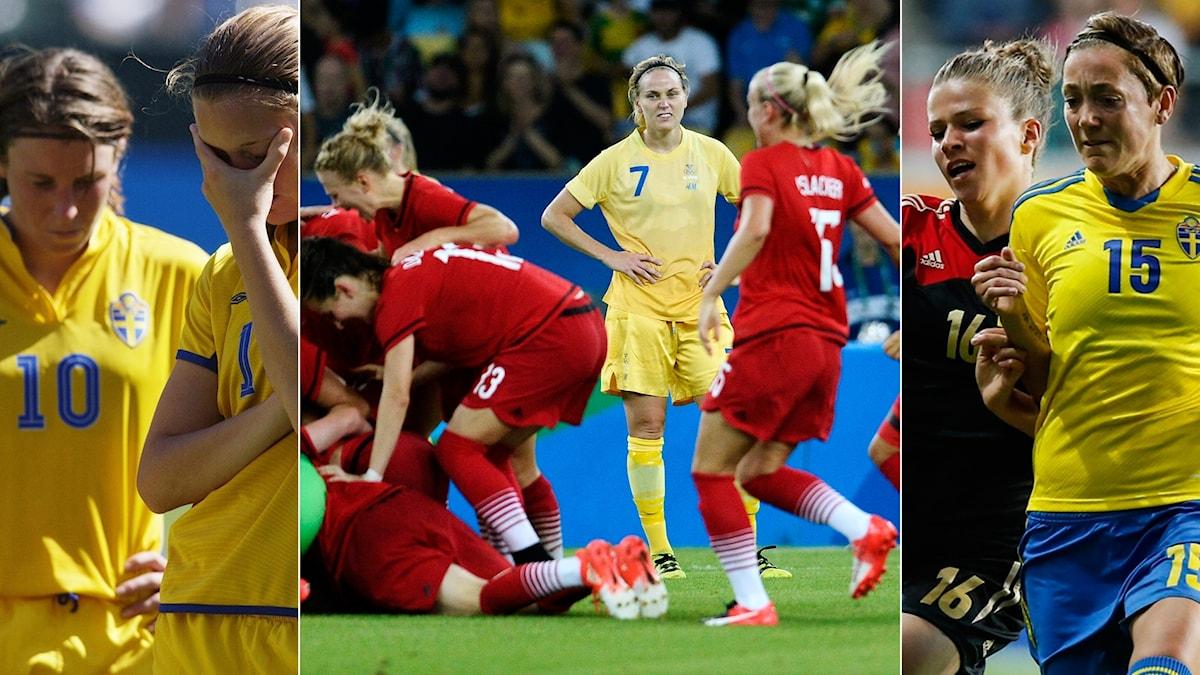 Tyskland har stoppat Sverige i VM 2003, EM 2013 och OS 2016.