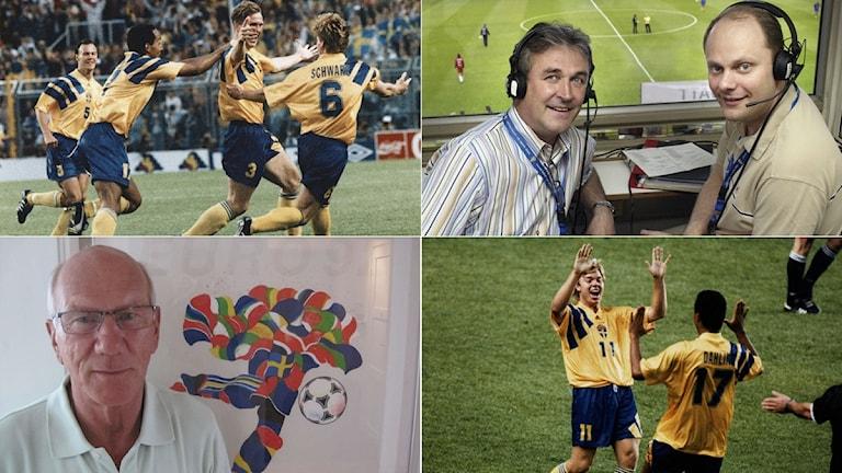 Collage fotbolls-EM 1992