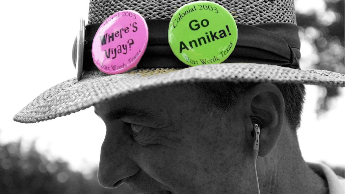 Annika Sörenstams spel mot männen rörde upp känslor.