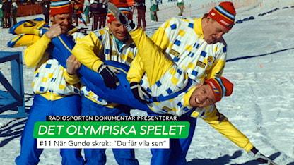 Olympiska spelet Gunde Svan OS 1988