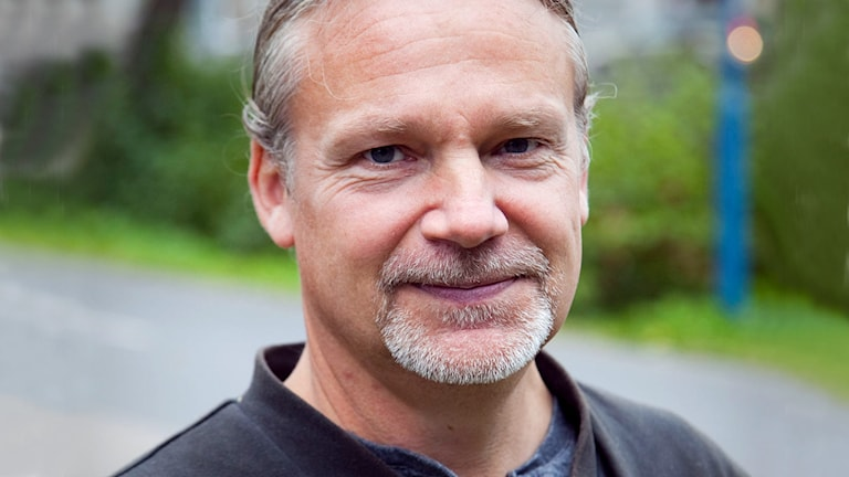 Martin Widmark 2009. Foto: Johan Ljungström /Sveriges Radio