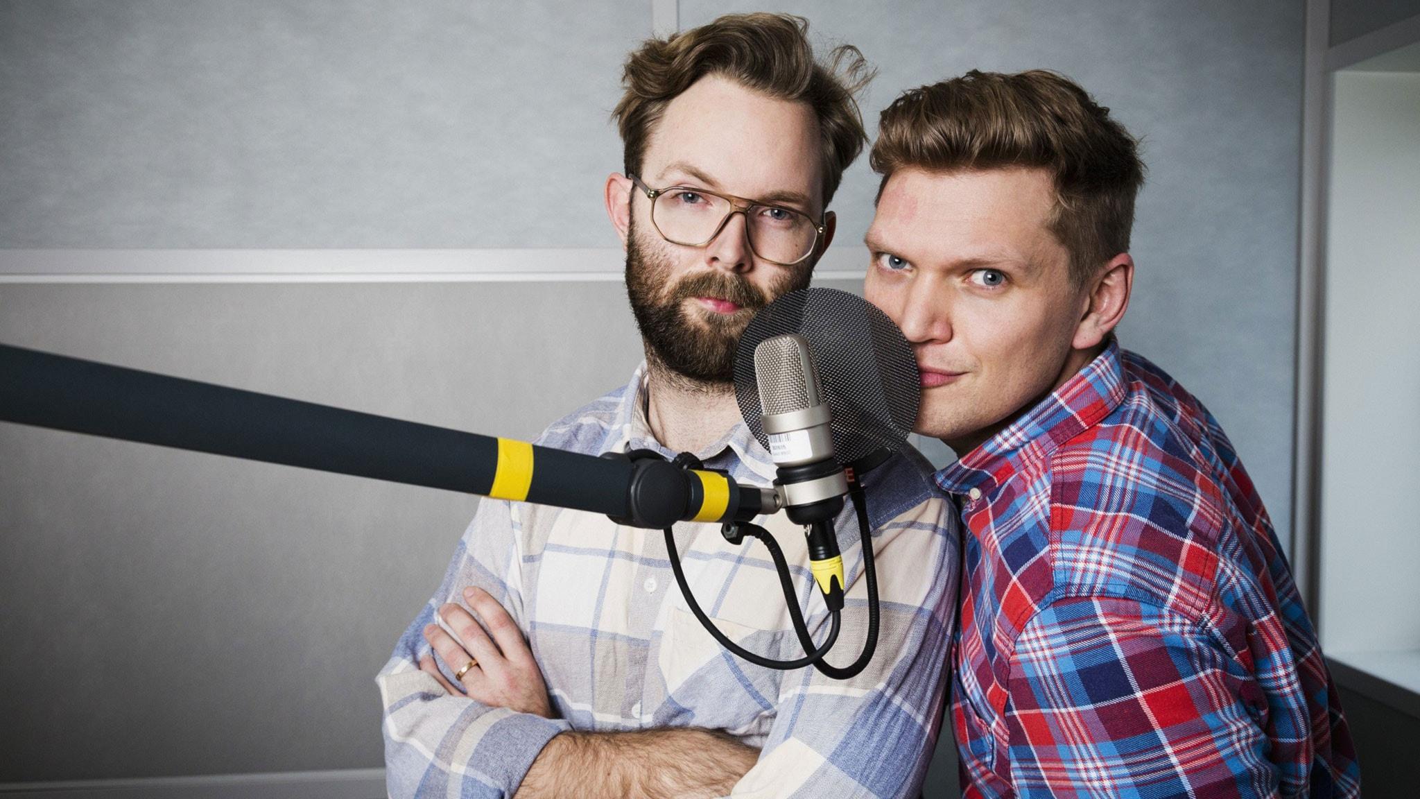 Robin Olin och Henrik Torehammar. Foto: Mattias Ahlm/Sveriges Radio