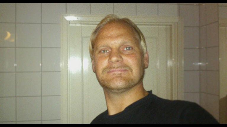 Dan Pedersen aka rånarens värsta skräck. Foto: Dan Pedersen