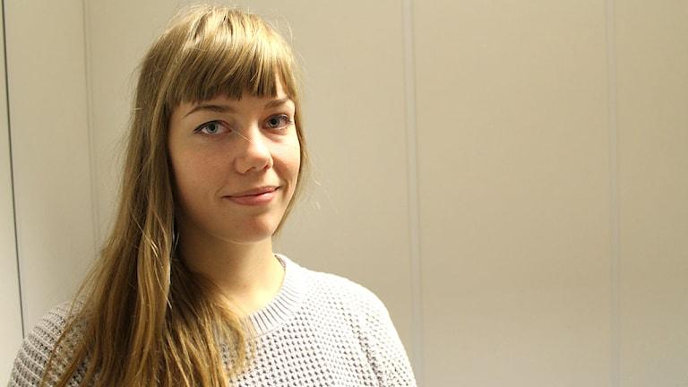 Sara Hansson. Foto: SR