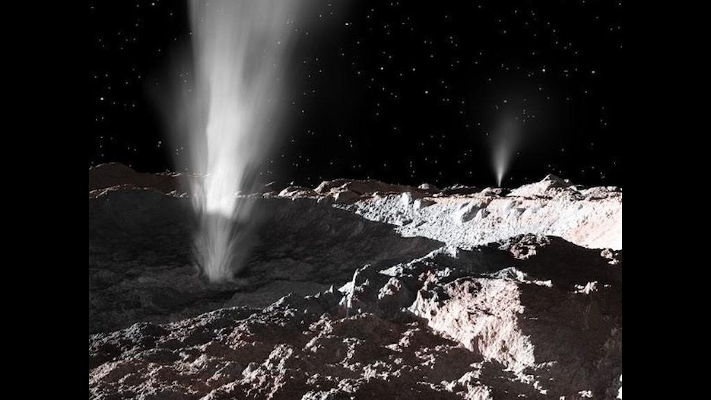 Kryovulkaner på Ceres