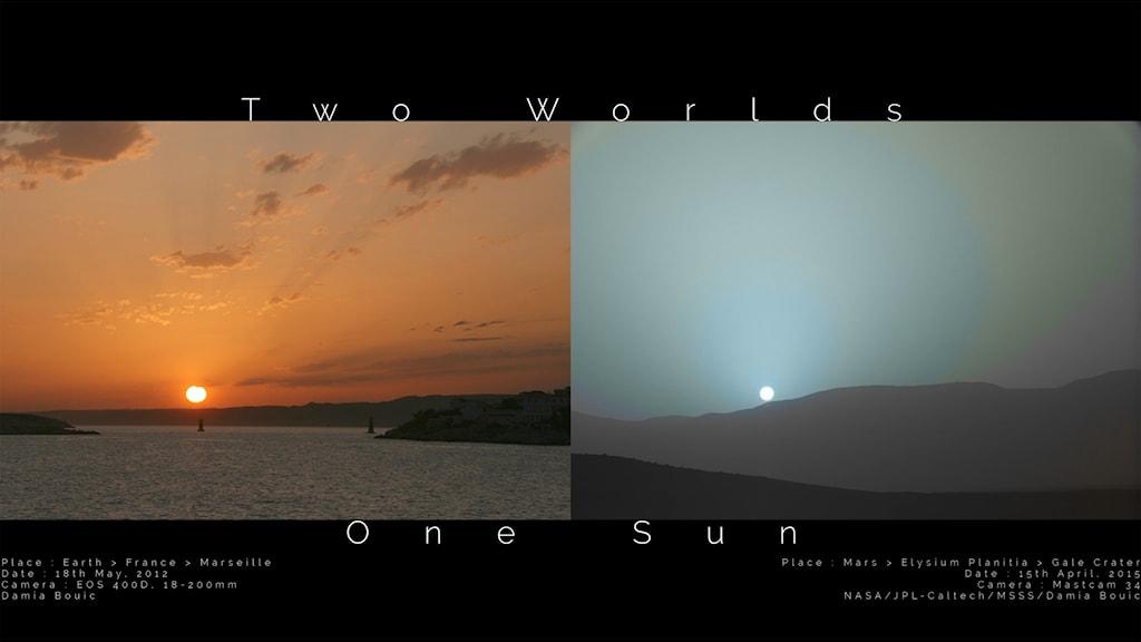 Två världar en sol