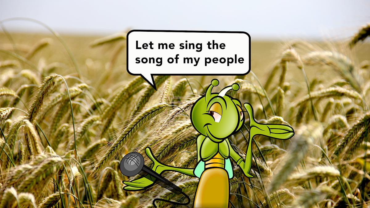 Syrsa sjunger
