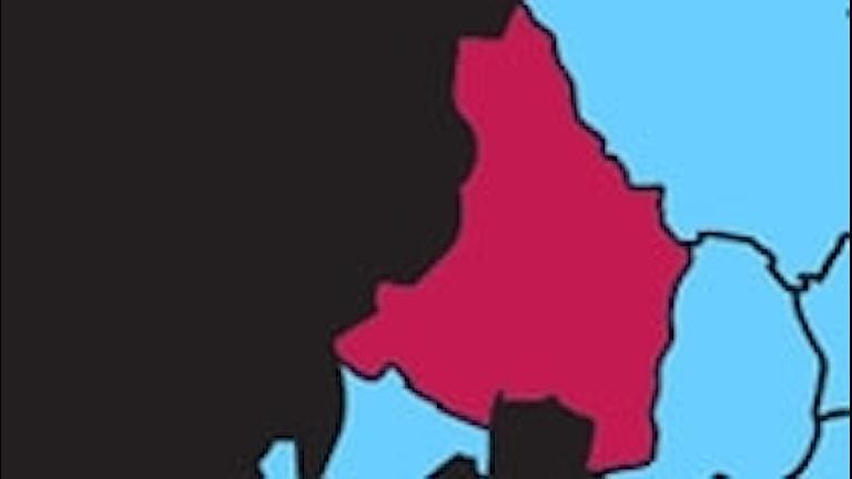 Karta P4 Värmland