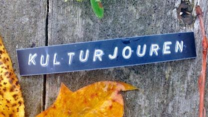 Texten kulturjouren bland höstlöv