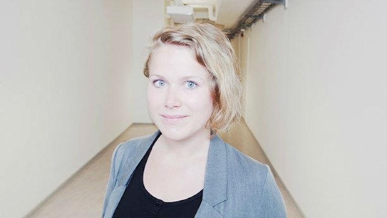 Närbild på Karin Gyllenkelv