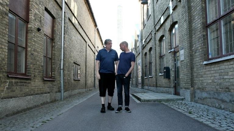 Unggubbarna Bosse och Bengt pratar om känslan skam.