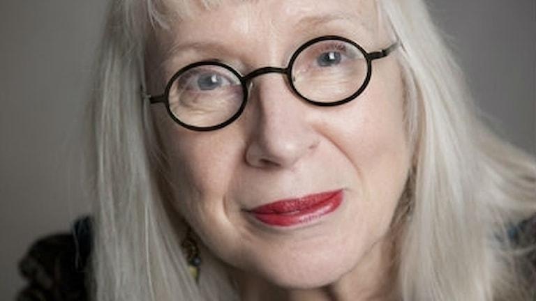 Suzanne Osten i kulturjouren i SöndagsMorgan.