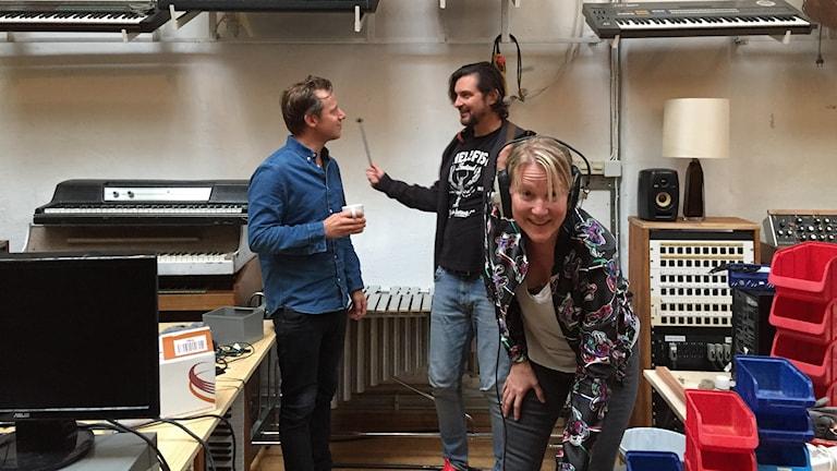 Kulturexperterna David Urwitz och Emma Engström.