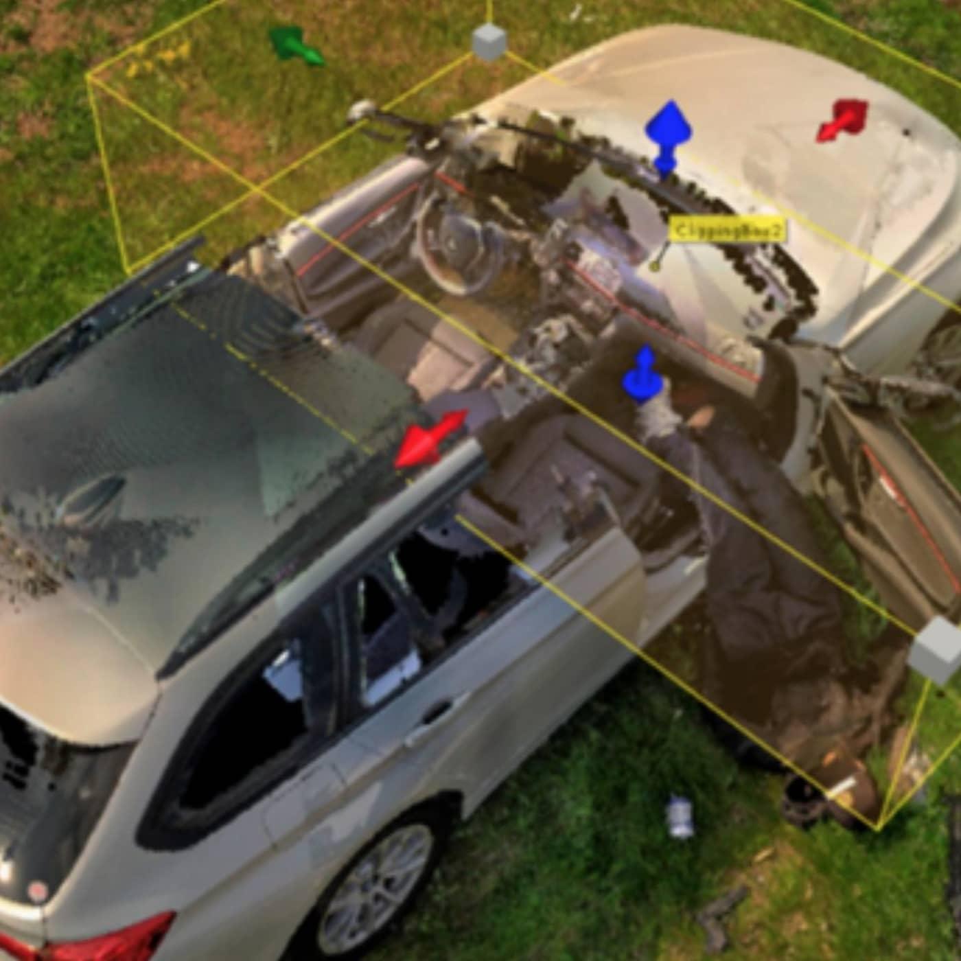 3D-brottsplatser - polisens nya verktyg