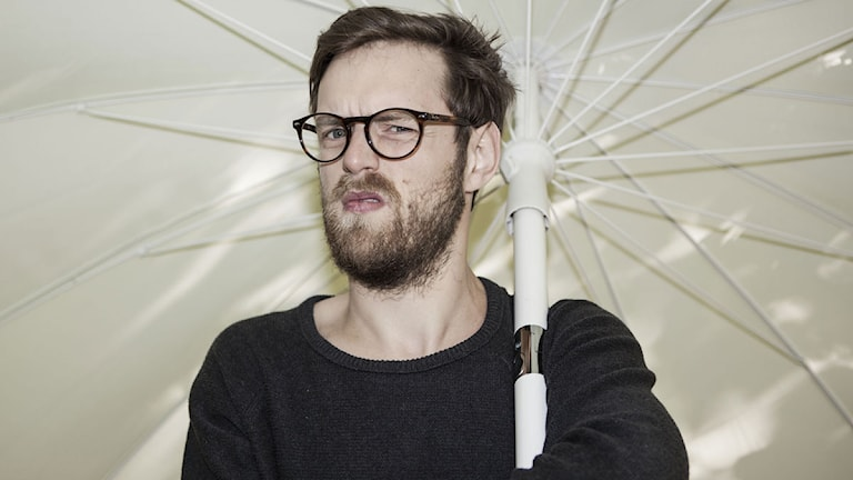 Niklas Mannheimer Ruberg. Foto: Mattias Dellmo/SR