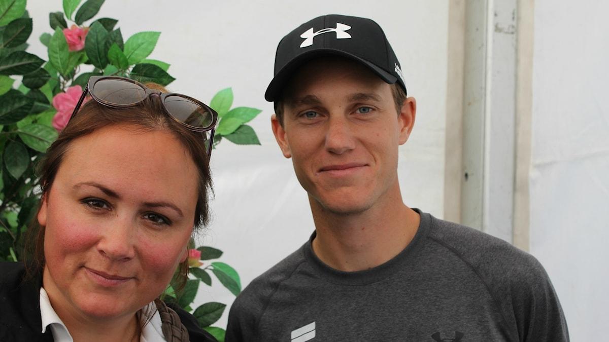 Ridpodden, Lisen Bratt Fredricson och Alexander Zetterman
