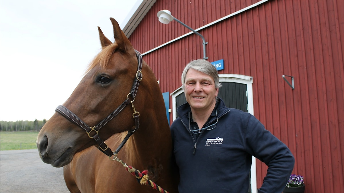 Ridpodden, veterinär Flemming Winberg