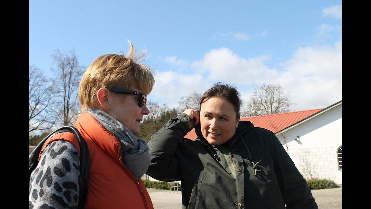 """Ridpodden, Ann-Catrin """"Ancan"""" Carlsson och Lisen Bratt Fredricson"""