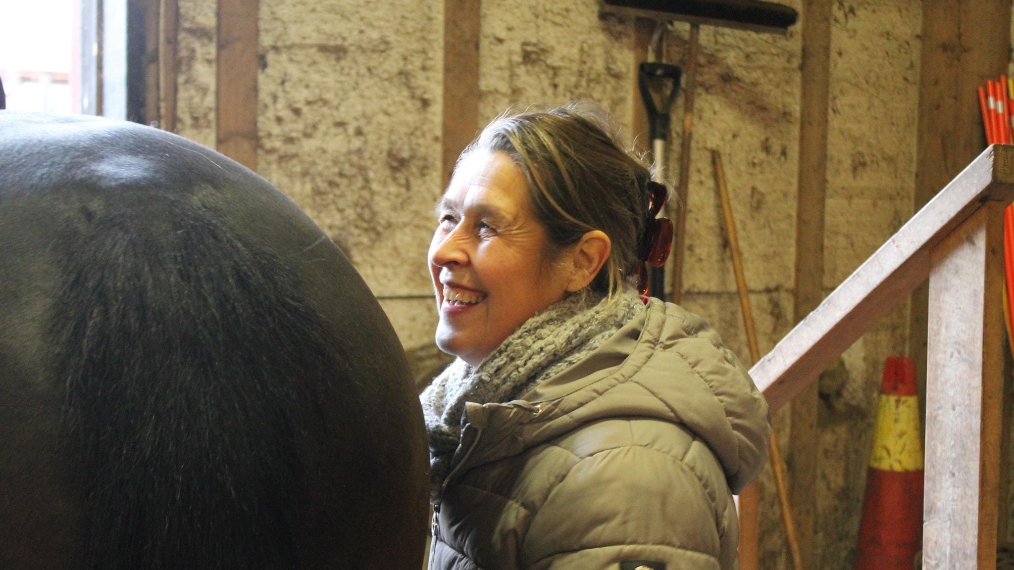 Ridpodden: Lotta Månsson-Söderström, instruktör i centrerad ridning