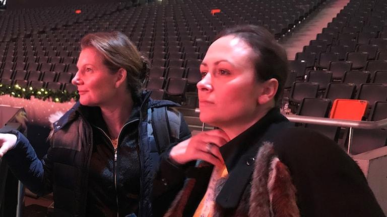Helena Persson och Lisen Bratt Fredricson