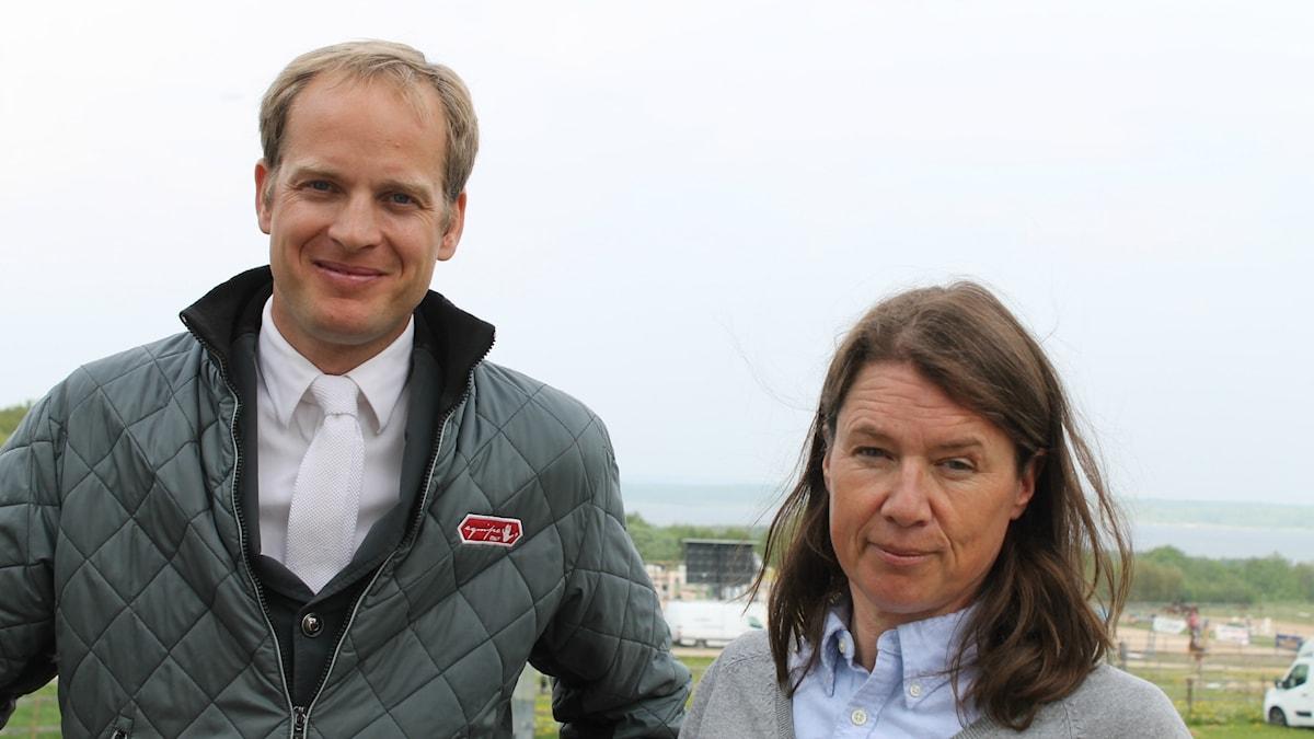 Ridpodden, unghästutbildarna Henrik Ankarcrona och Astrid Antonsson