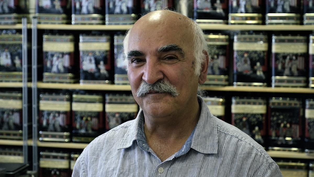 Tehandlaren Ahmad Noroozi.